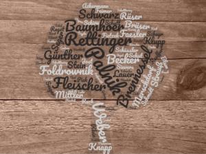 Ahnenforschung – meine Familiennamen