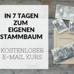 Online Kurs Stammbaum Ahnenforschung